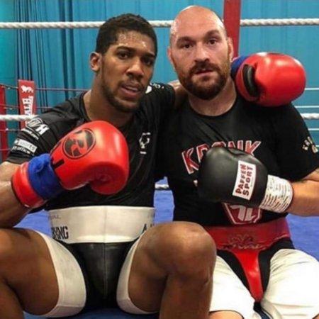 Anthony Joshua segítene Tyson Fury-nak