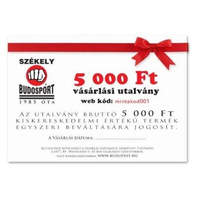 Ajándékutalvány - 5000 Ft