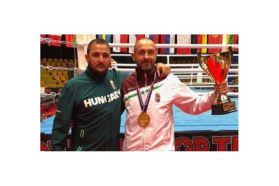 Kick-box Európa-bajnokság: Kovács Imre aranyérmes