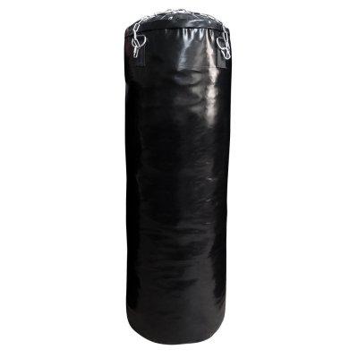 Boxzsák 120 cm-től, Saman, Basic, műbőr, lánccal