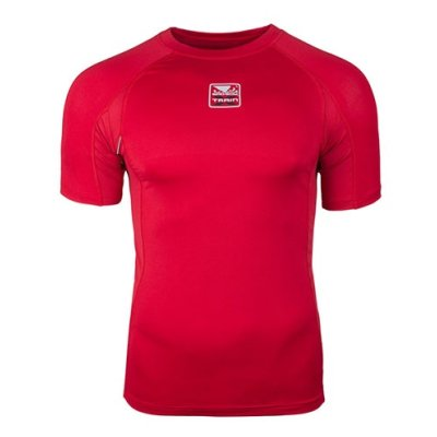 Compression T-shirt, Bad Boy, X-Train, red