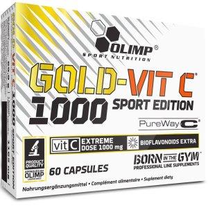 Olimp, Gold-Vit C Sport Edition, Vitamin, 60 Capsules