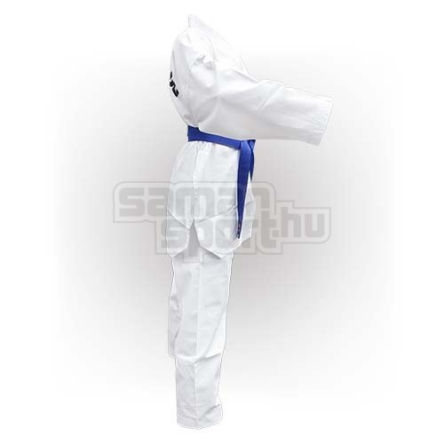 Taekwondo Uniform WTF, Saman, Basic, cotton/poly, white, 110 méret