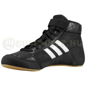 Wrestling shoes, adidas, HVC K, for kids
