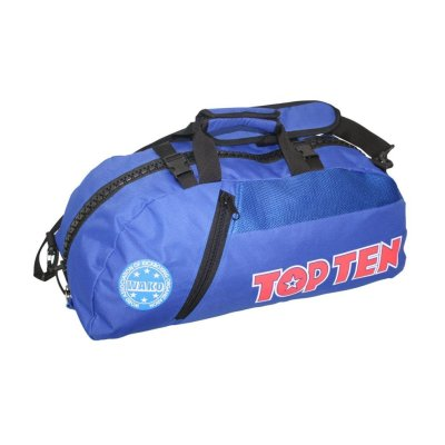"Backpack-Sportsbag-Dufflebag combination ""WAKO"" - 67 cm x 36 cm x 33 cm, blue"