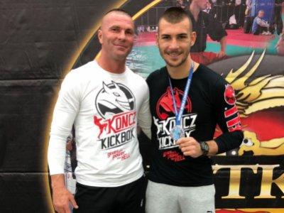 Újra ringben Kunkli Tivadar tanítványa