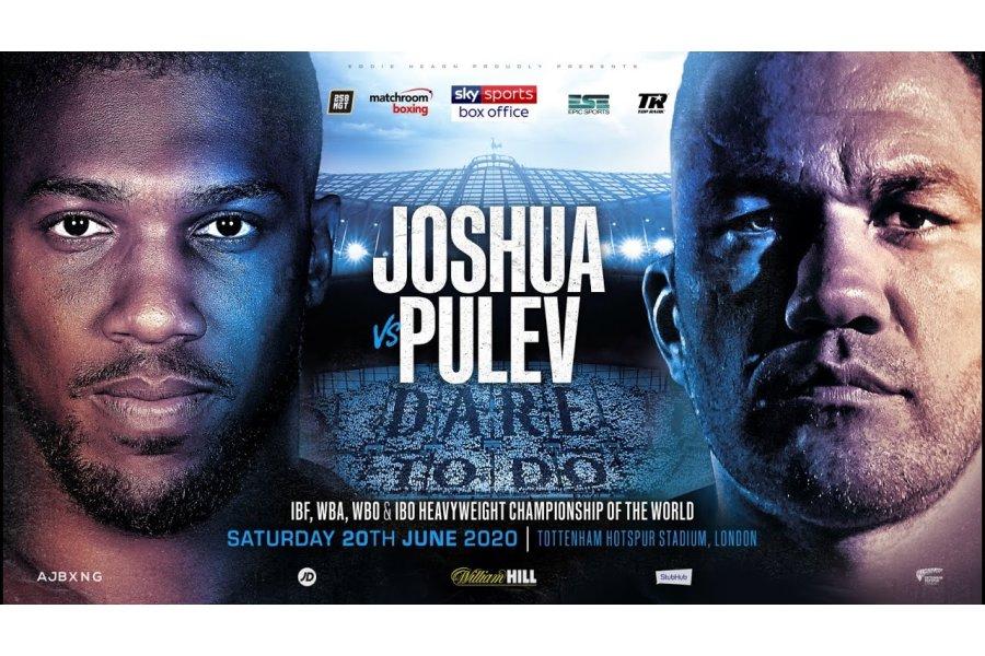 Anthony Joshua bejelentette a Pulev elleni párharcát