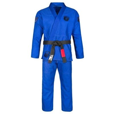 BJJ uniform, Bad Boy, Legacy Master, blue