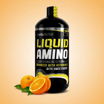 Biotech, Liquid Amino, 1000 ml, narancs