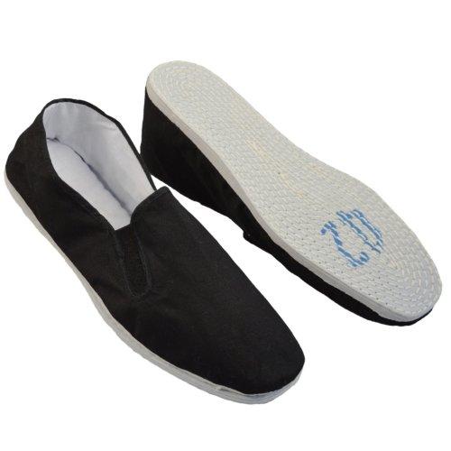 Tai-Chi cipő, Phoenix, pamut talppal, fekete