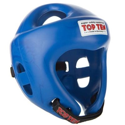 Competition Fight Headguard, Top Ten, blue