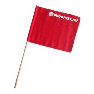 Referee flag, Kyokushin, red