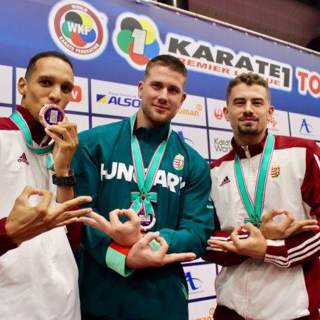 Három magyar karatés bronz az olimpia helyszínén