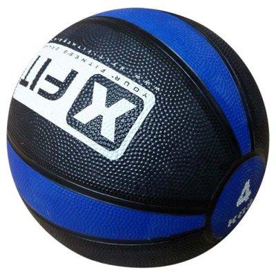 Medicine ball, XFIT, rubber, 4kg