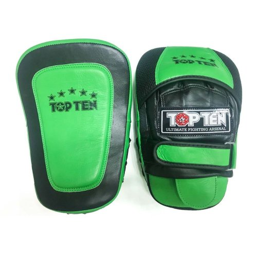 Pontkesztyű, Top Ten, fekete/neon zöld