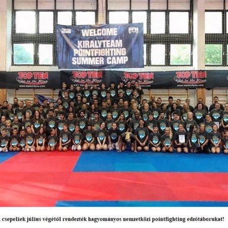 Magyarországon táborozott a kick-boxos világelit