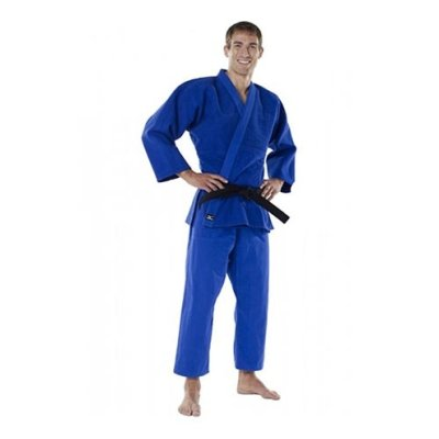Judo uniform, Mizuno, Shiai, blue