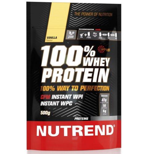 Nutrend, 100% Whey Protein, 500 g 5 ízben, Vanília ízek
