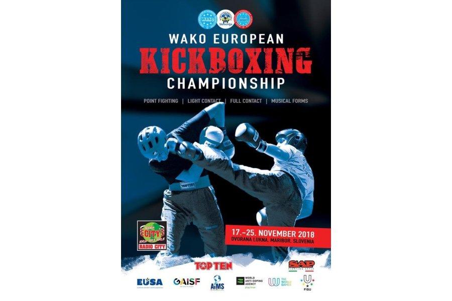 Kick-box Európa-bajnokság Mariborban