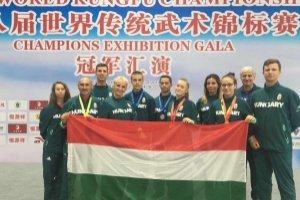 Három magyar elsőség a kungfu világbajnokságon