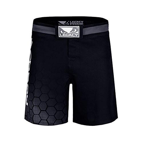 MMA short, Bad Boy, Legacy Prime, black