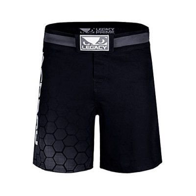 MMA short, Bad Boy, Legacy Prime, black