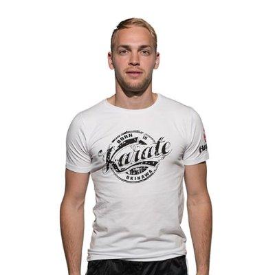 T-Shirt, Hayashi, Karate, white