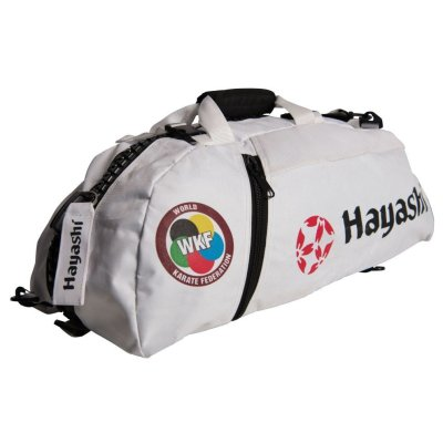 "Backpack-Sportsbag-Dufflebag combination ""WKF"", white, small"