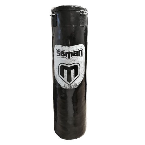 Punching bag, up to 100 cm, Saman Spirit of Fight, PU, with chain, 120x35 cm méret