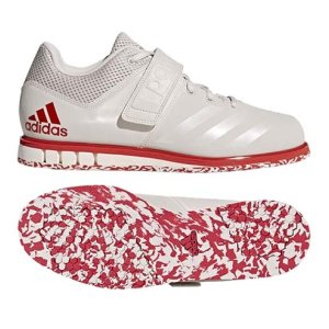 Weightlifting shoes, adidas,  Powerlift 3.1, white/red