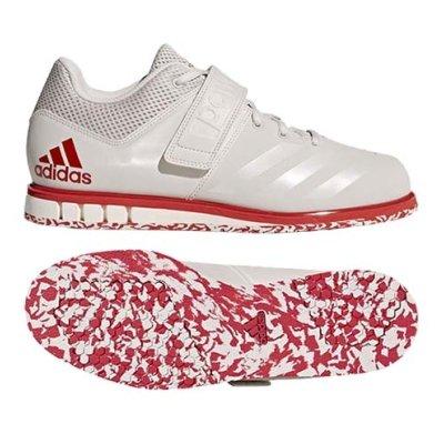 Súlyemelő cipő, adidas,  Powerlift 3.1, fehér/piros