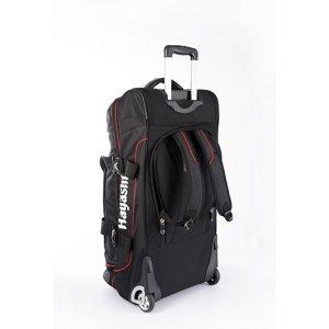 Táska, Hayashi,Trolley Deluxe Travel, fekete-piros