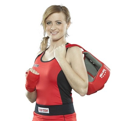 Boxing shirt, for women, TOP TEN, red