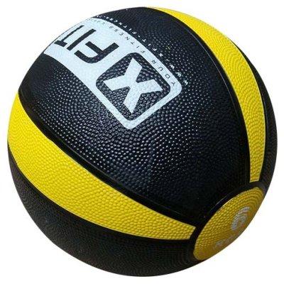 Medicine ball, XFIT, rubber, 6kg
