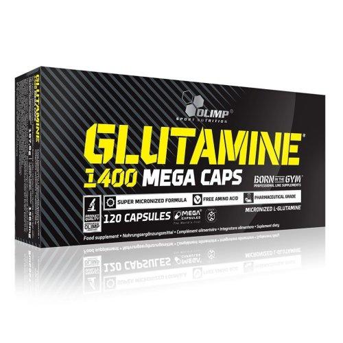 Olimpm, L-Glutamine 1400 MEGA CAPS®, 120 caps