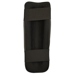 Shin guard, Phoenix, synthetic leather, black