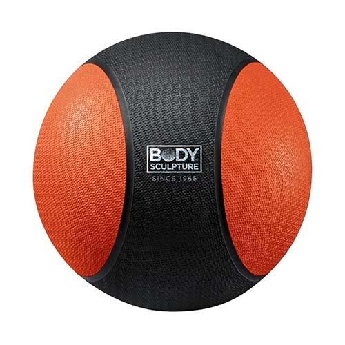 Medicine ball 5 kg, rubber, Body Sculpture