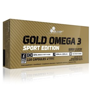 Olimp, Gold Omega 3 Sport Edition, 120 capsules