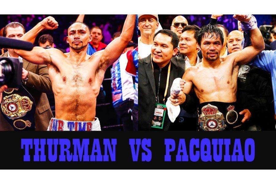Június 20-án lehet a Pacquiao-Thurman