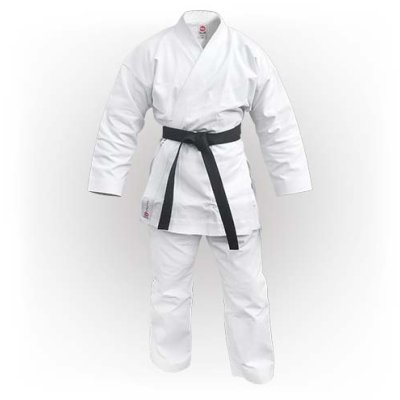 Karate Uniform, Saman, Elite Karate Uniform, without belt, white
