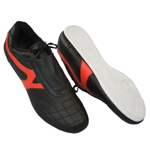 Martial arts shoes, Phoenix, black-red, 44 size