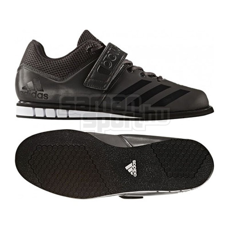 40d113a2d263 Crossfit shoes / Weightlifting shoes, adidas, Powerlift 3.1, black ...