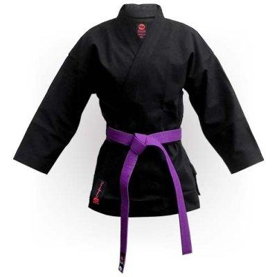 Karate felső, Saman, Budo Black, pamut