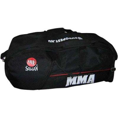 Táska, Saman, MMA, fekete, kombi