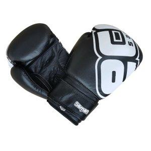 Boxkesztyű Saman, Eco 2.0, bőr, fekete