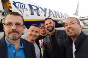 Szellő Imre és csapata elindult Belgiumba