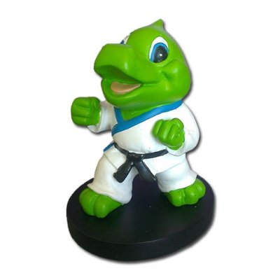 Sculpture, Karate dragon