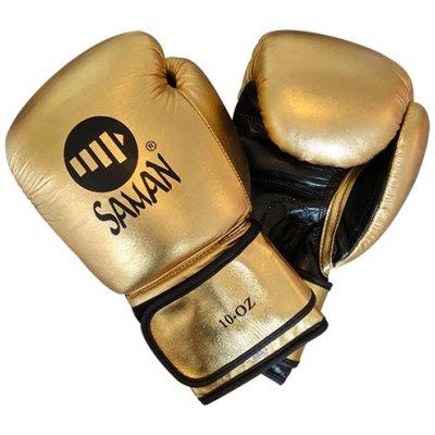 Boxkesztyű, Felix Promotion, tépőzáras, arany