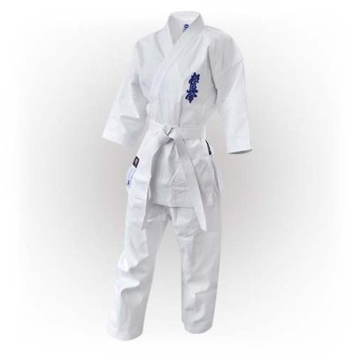 Kyokushin Karate Uniform, Saman, white, Light