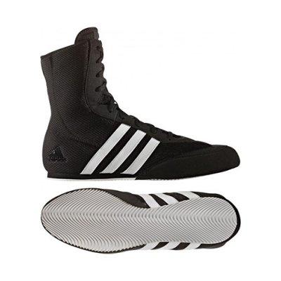 Box cipő, adidas, BoxHog 2, fekete/fehér
